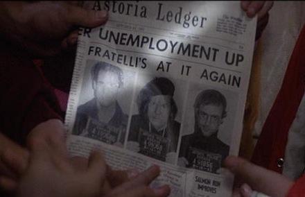 Goonies Newspaper