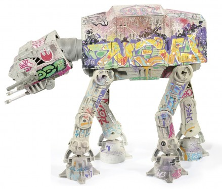 graffiti At-At Star Wars