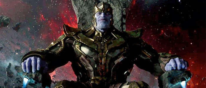 Thanos in Guardians of the Galaxy 2