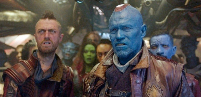 Michael Rooker Falls Asleep in Guardians of the Galaxy 2 Blooper
