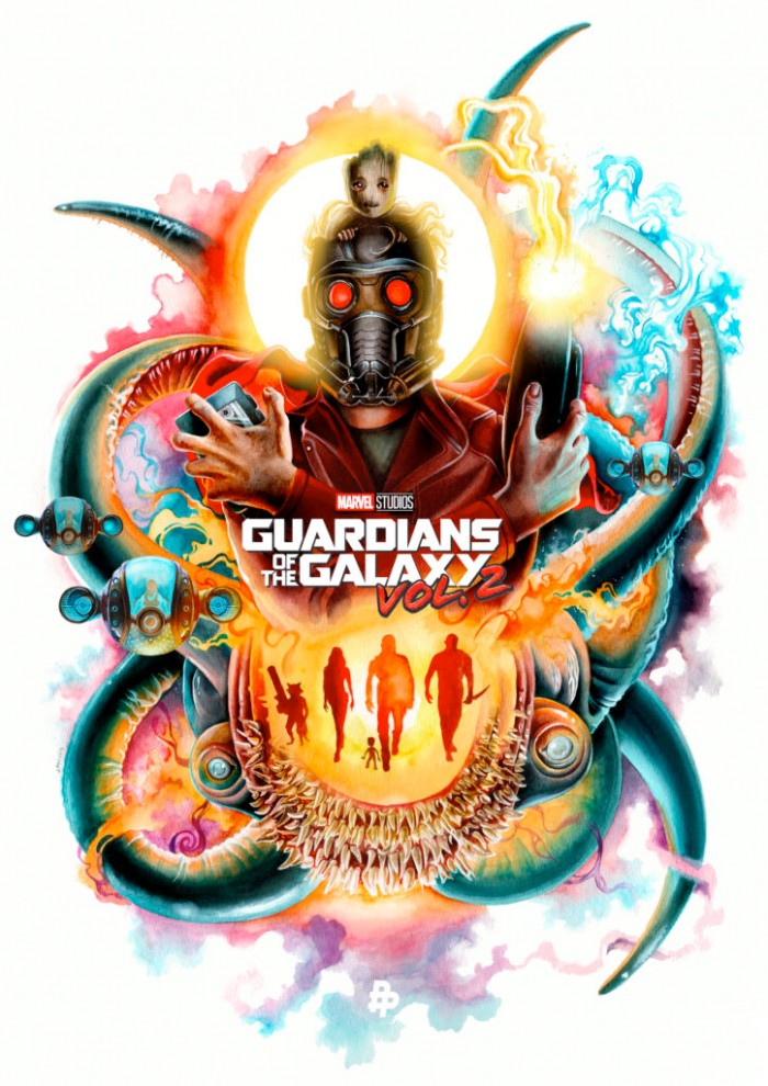 Guardians of the Galaxy Vol 2. - Poster Posse Phase 2