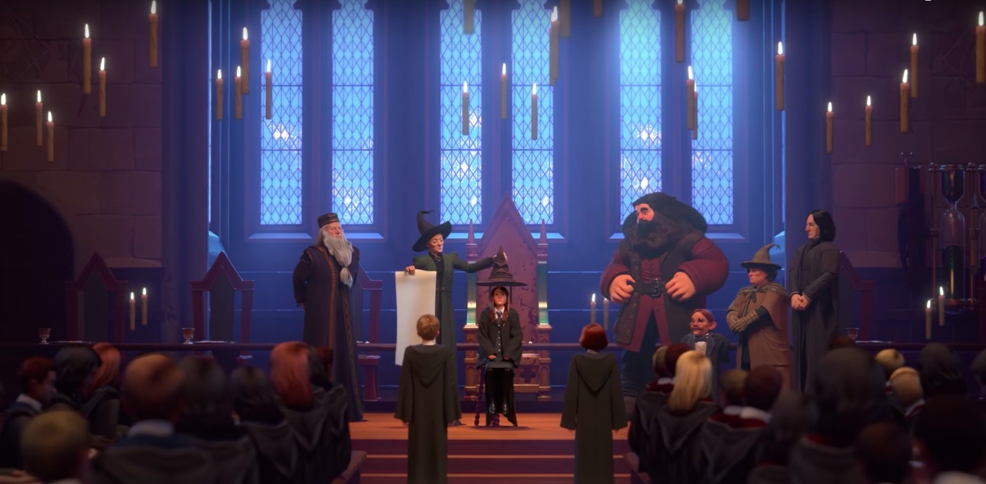 Harry Potter Book Trailer : Harry potter hogwarts mystery trailer the role playing