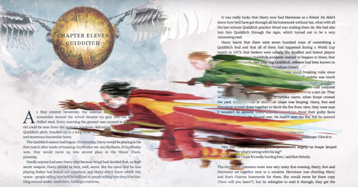Animated Harry Potter Kindle