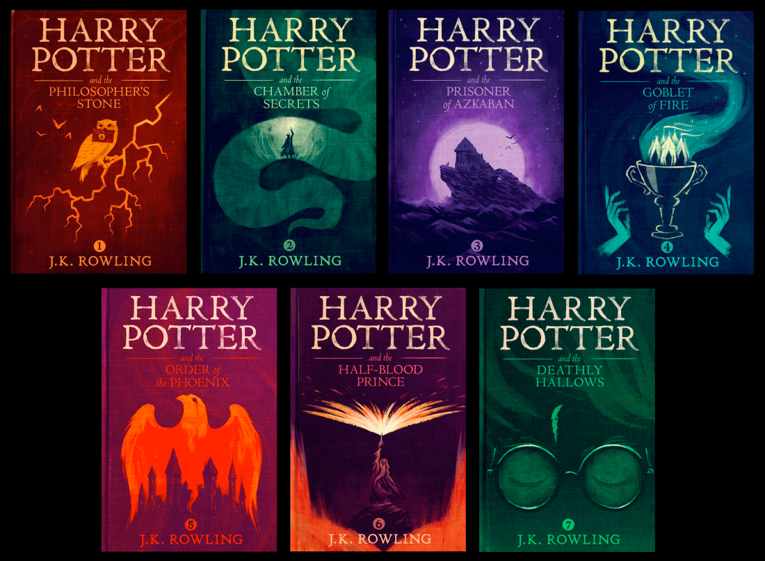 Harry Potter Book Kickass : These new olly moss harry potter book covers are amazing