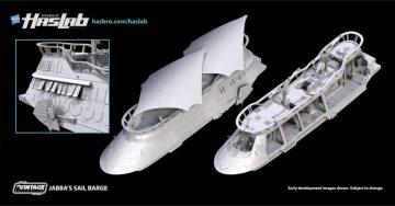 Jabba's Sail Barge Playset - Hasbro HasLab