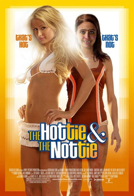 Muza i meduza / The Hottie and the Nottie (2008) [Lektor PL][DVDrip AVI]