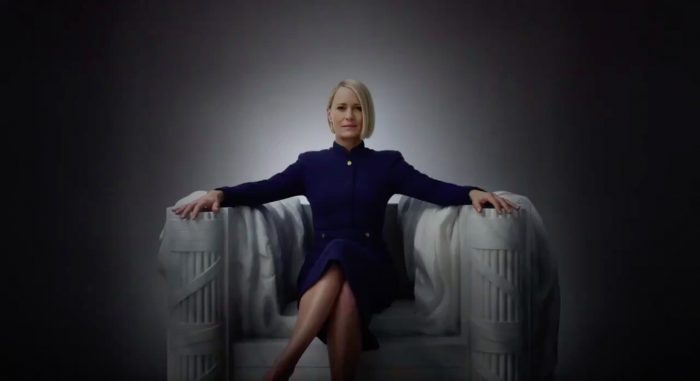 'House of Cards' Drops July 4th Promo Featuring Robin Wright