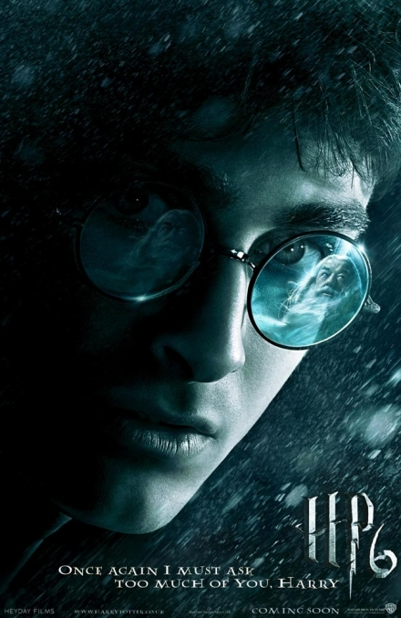 Harry Potter Half Blood Prince Movie Poster 1