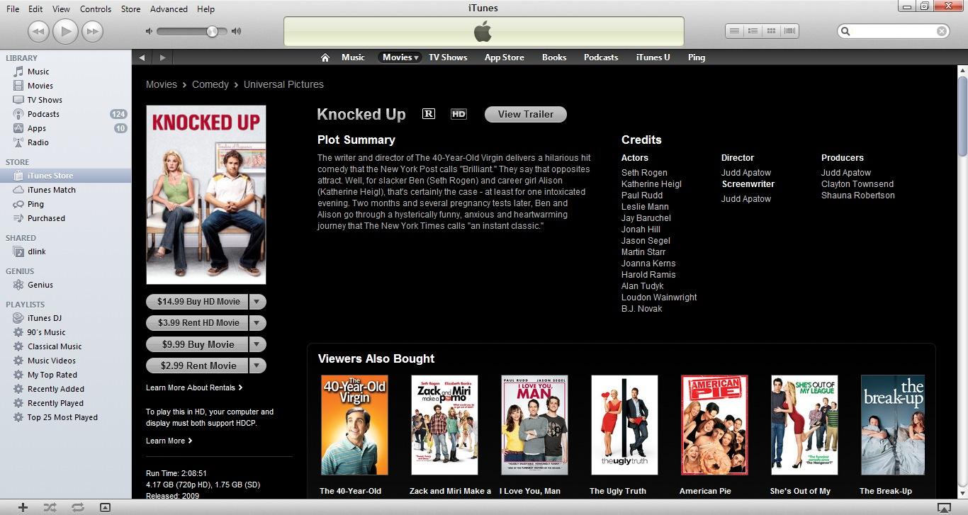 Universal Movies Apples Icloud