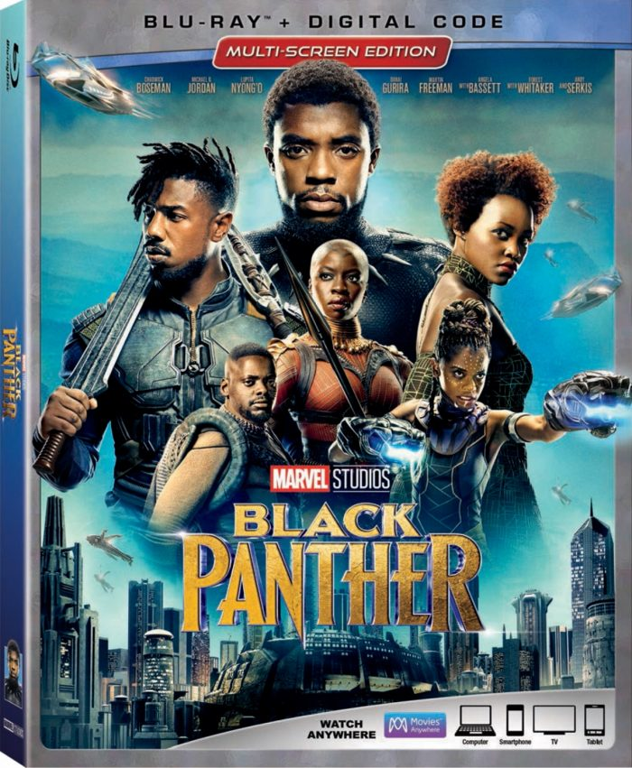 Black Panther Blu-ray cover