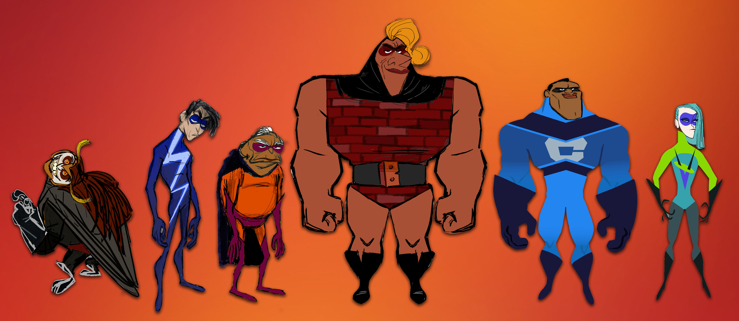 who are the incredibles 2 wannabe supers  meet pixar u0026 39 s new heroes