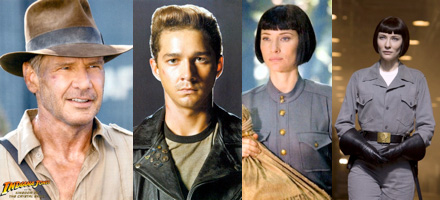 Four New Photos: Indiana Jones and the Kingdom of the Crystal Skull