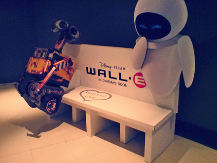 International WALL-E Theater Display