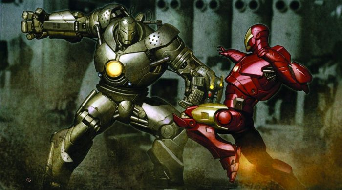 Iron Man Movie Concept Art