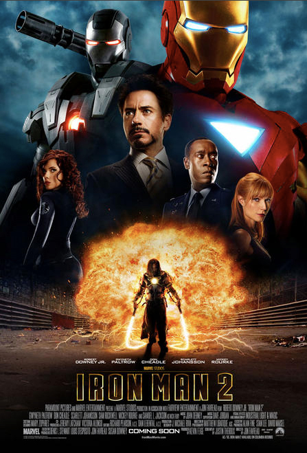 Iron Man 2, international poster
