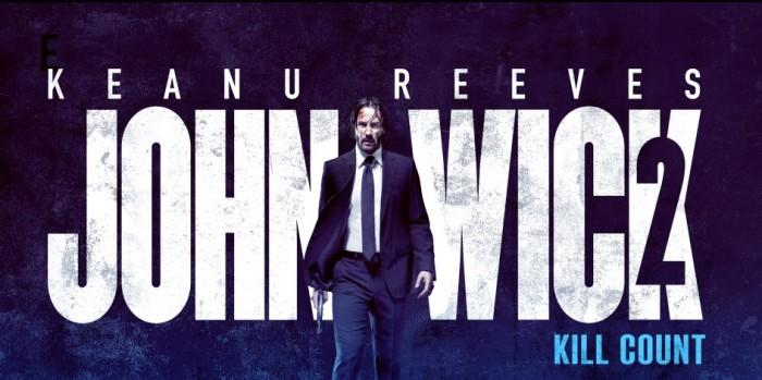 John Wick 2 Kill Count