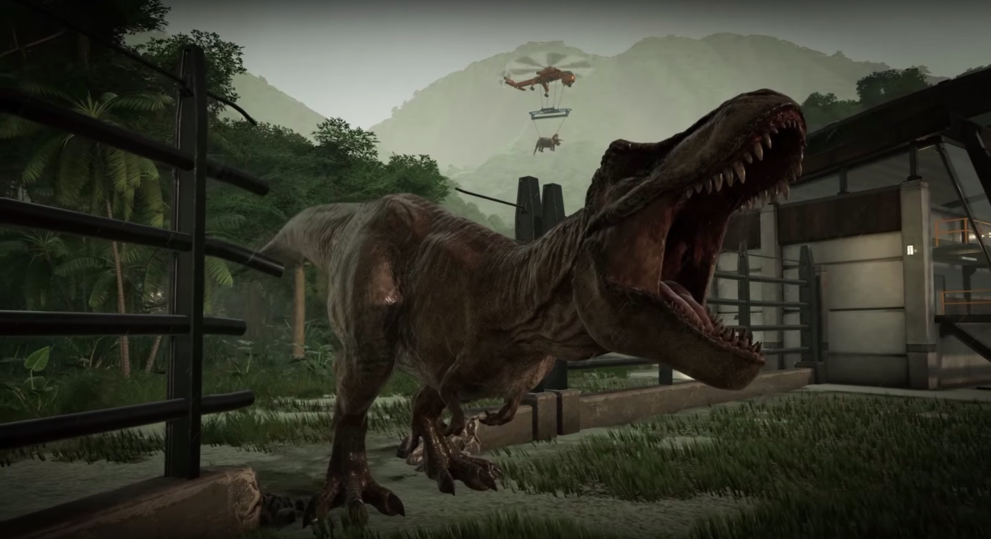'Jurassic World Evolution' Trailer: Play with Dinosaurs ...