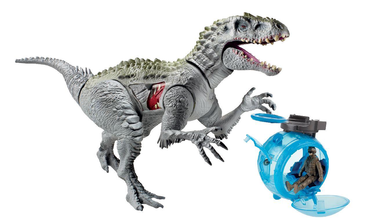 Elicottero Jurassic World : New jurassic world toys see the indominus rex