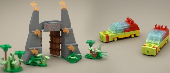 mini Jurassic Park LEGO