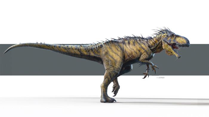 Jurassic World - Indominus Rex Concept Art