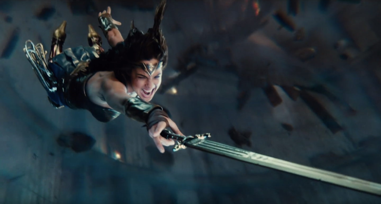 Wonder Woman Beaten Justice League Justice League Trailer...