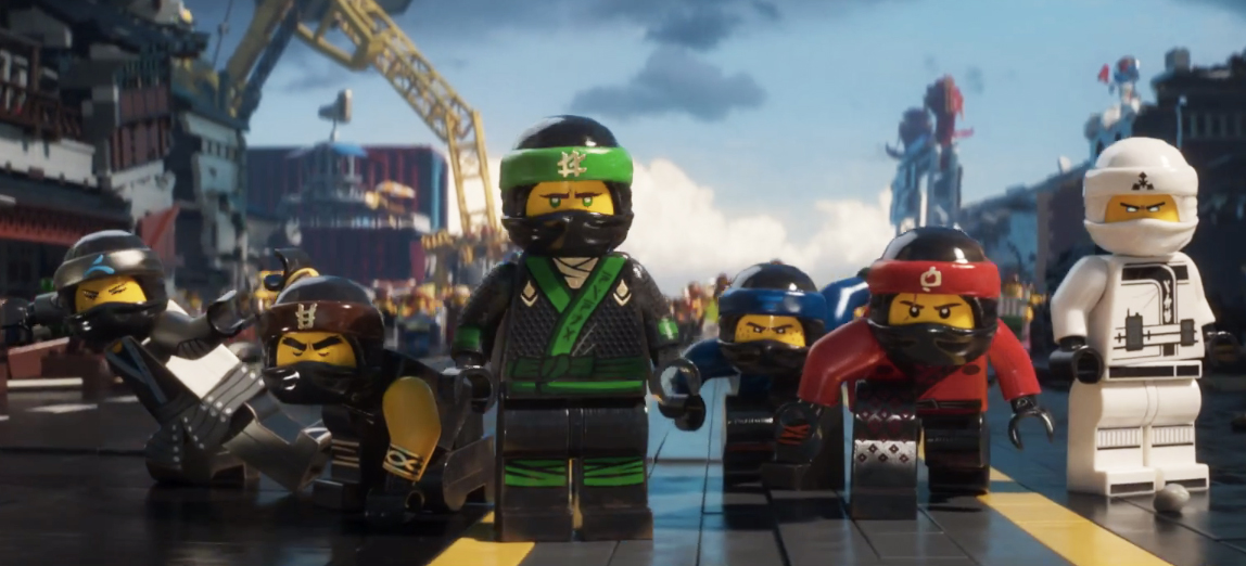 The LEGO Ninjago Movie Featurette: It's Like Power Rangers with ...