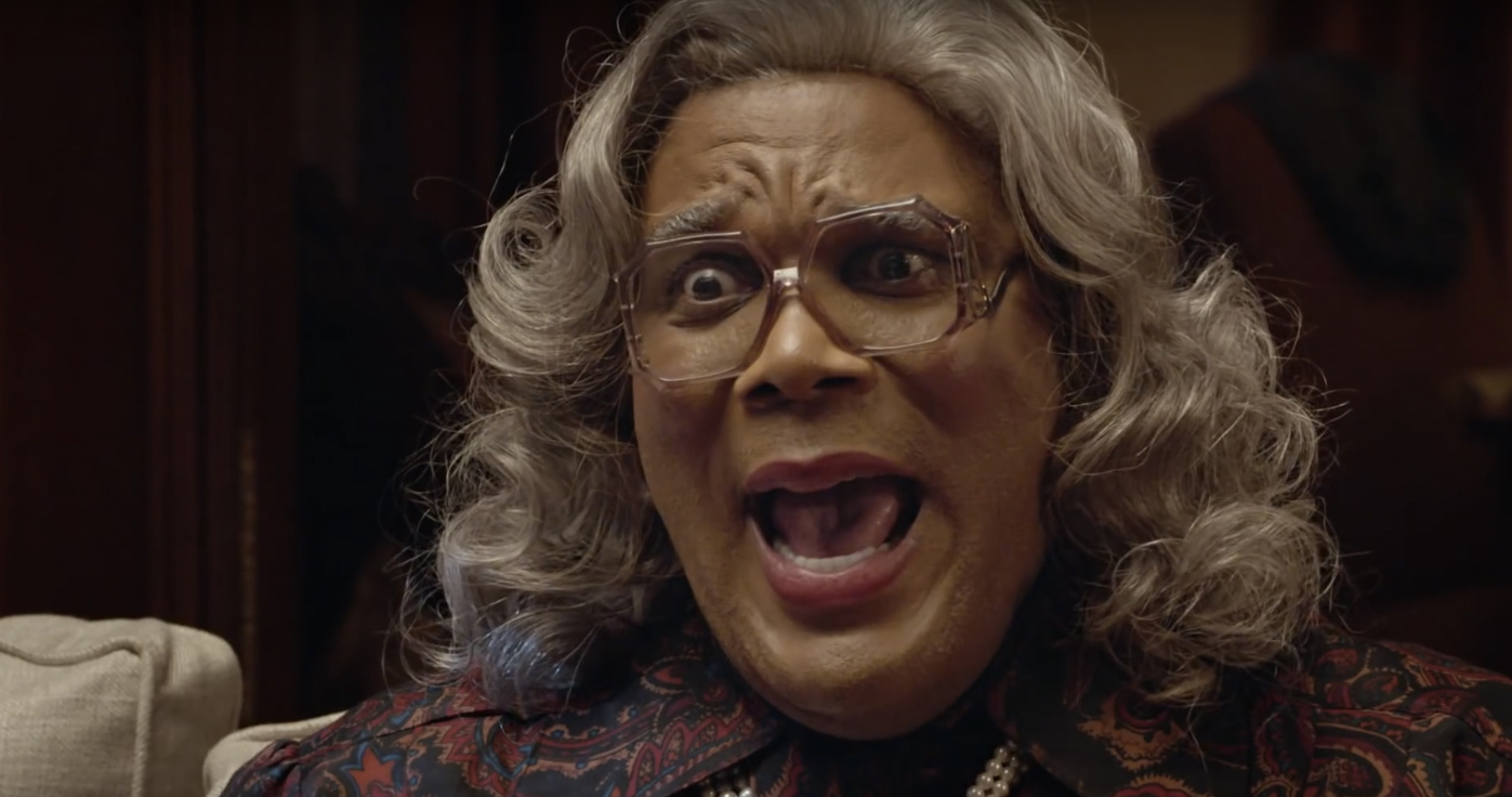 Boo! A Madea Halloween Trailer: Tyler Perry Gets a Call from ...