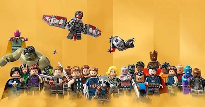 Marvel 10 Years - LEGO Poster
