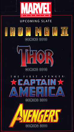 Marvel Logo Line-Up