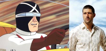 Matthew Fox is Racer X
