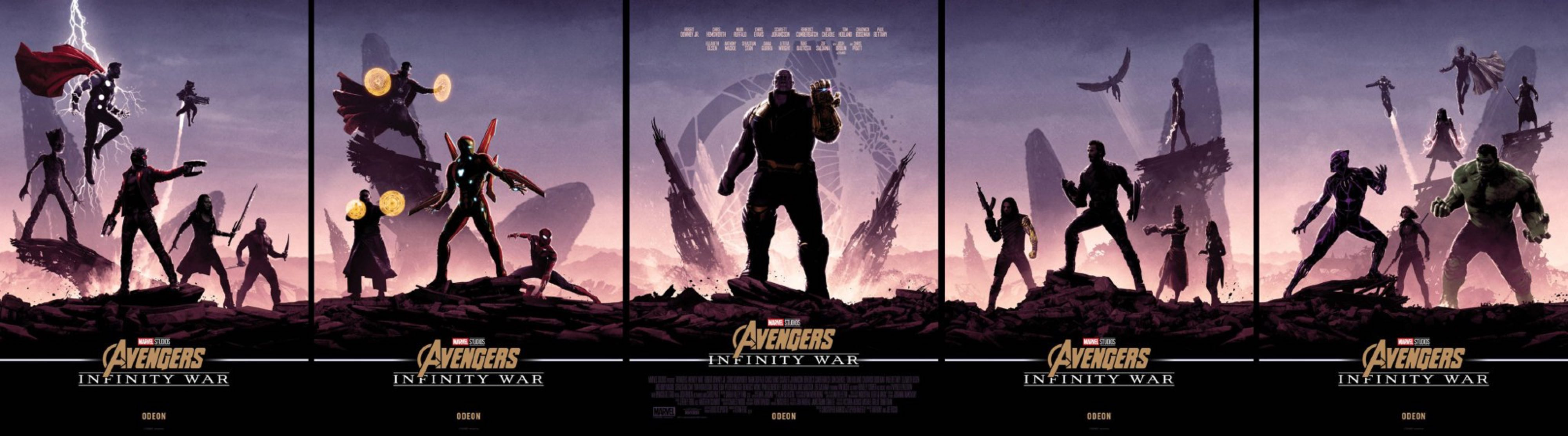 these matt ferguson infinity war posters are incredible