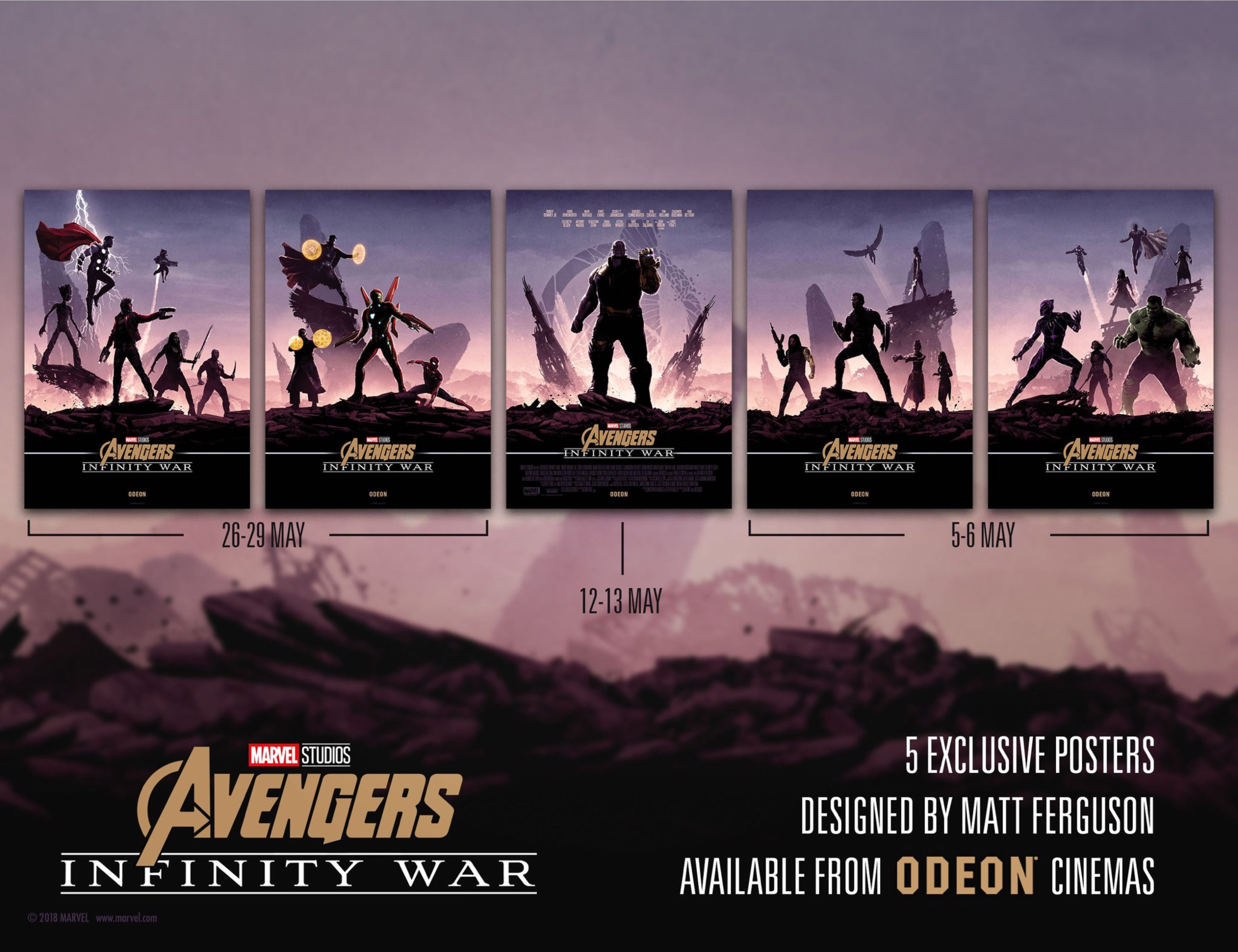 Watch Marvel's Avengers surprise fans with collector's items from Infinity War