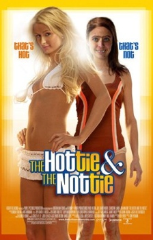 The Hottie and the Nottie movie poster