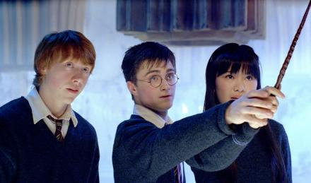 Ron, Harry & Cho in Dumbledore's Army