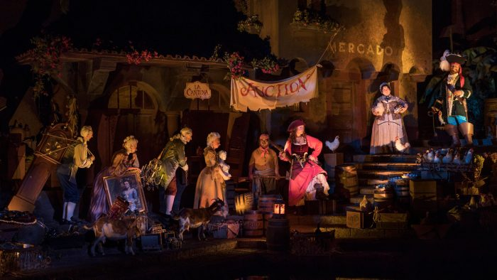 pirates of the caribbean ride changes