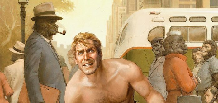 Rod Serling Planet of the Apes Comic Book