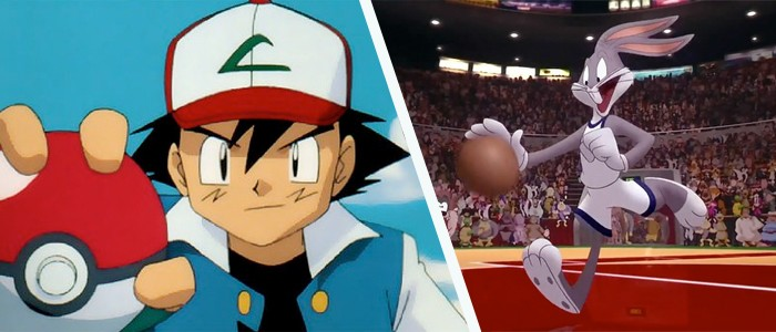 Pokemon and Space Jam in Theaters