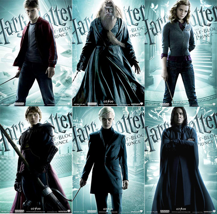 harry potter character posters