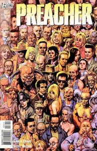 Preacher comic book
