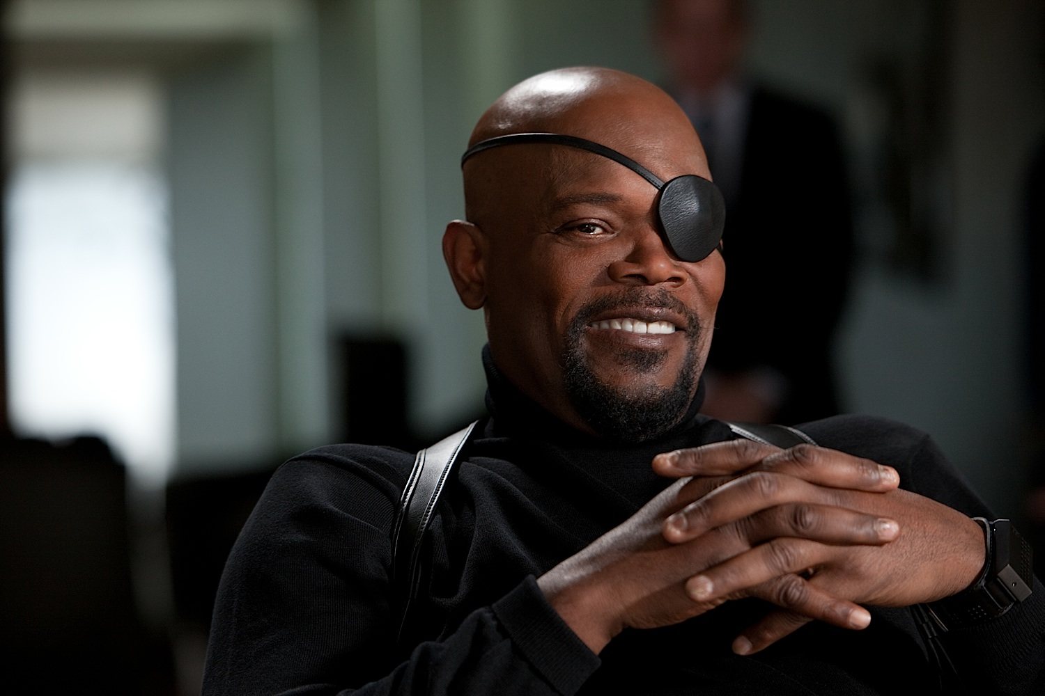 Nick Fury, mothafuckas.