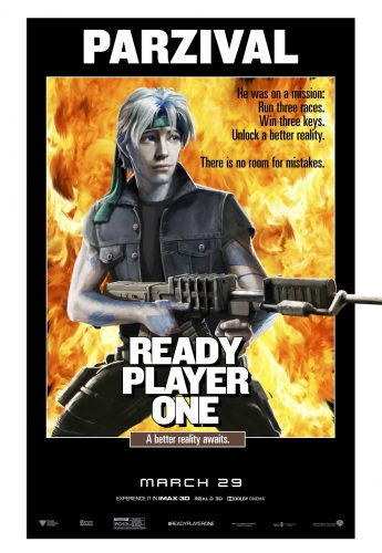 Ready Player One Posters