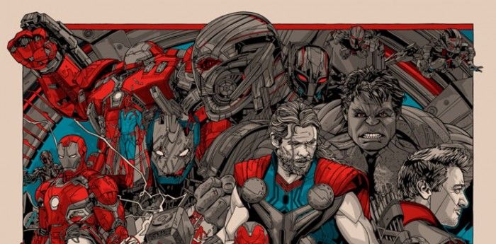 Tyler Stout Avengers Age Of Ultron Poster