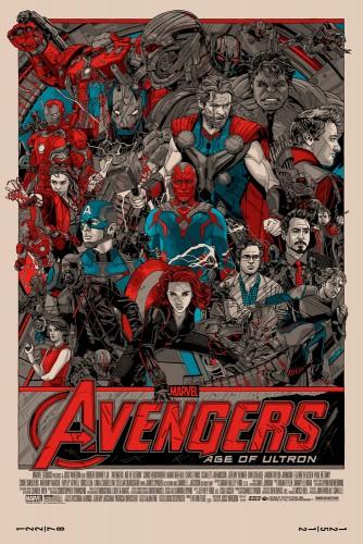 Tyler Stout Avengers Age Of Ultron Poster regular