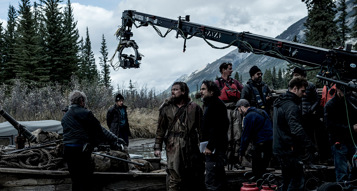 Image result for the revenant behind the scenes