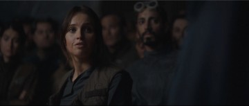 rogue one: a star wars story international trailer 2 rebel base meeting briefing jyn