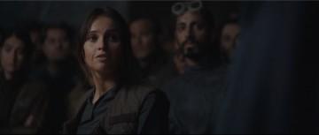 rogue one: a star wars story international trailer 2 rebel base meeting briefing jyn