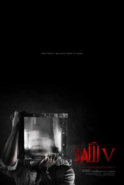 Saw 5 final poster