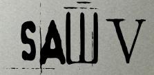 SAW V Logo