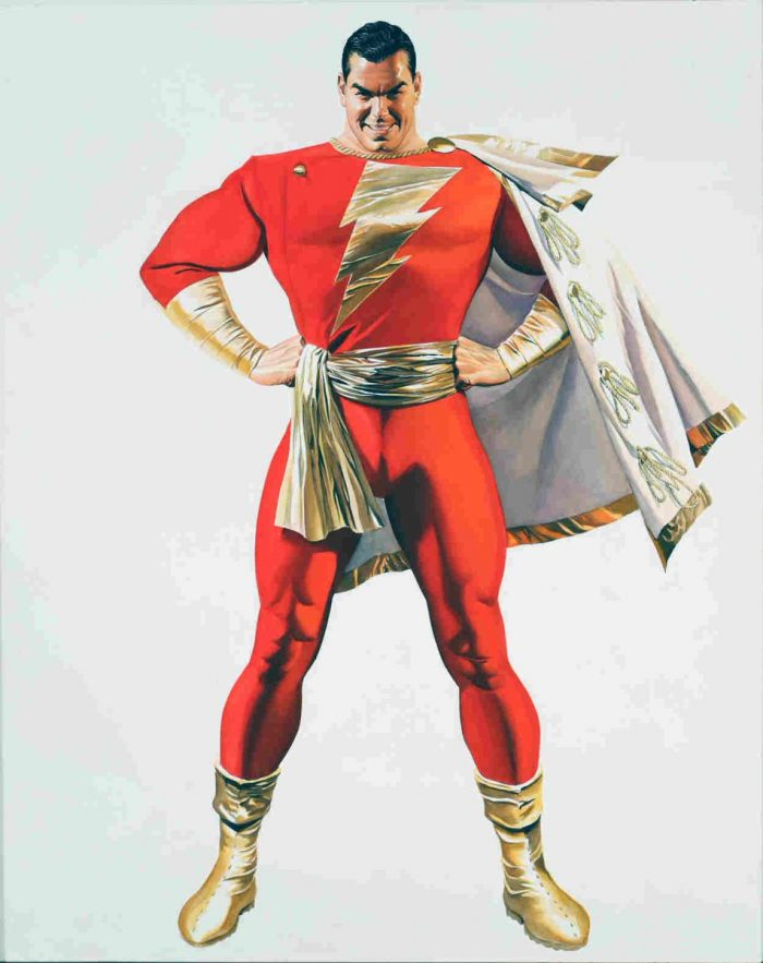 Your first unofficial look at Zachary Levi as Shazam!