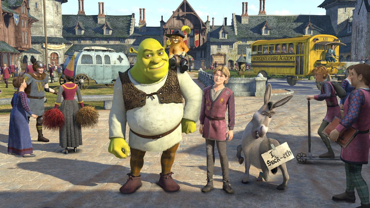shrek wallpaper desktop